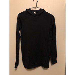 Lululemon black woven long sleeve